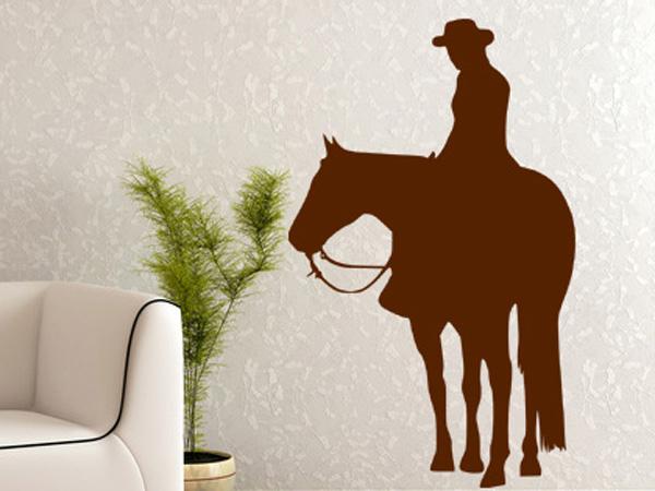 Cowboy wandtattoo - Wandtattoo cowboy ...