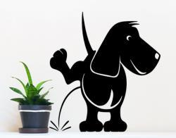 Pinkelnder Hund