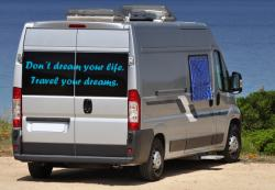 Don´t dream your life. Travel your dreams XL