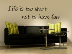 Life is too short XL