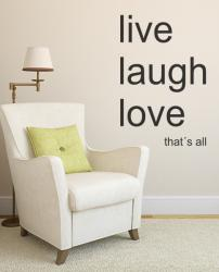 Live, Laugh, Love XL