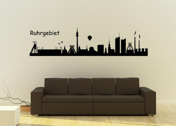 Skyline Ruhrgebiet BVB