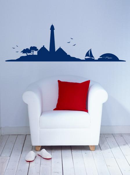 Skyline Leuchtturm