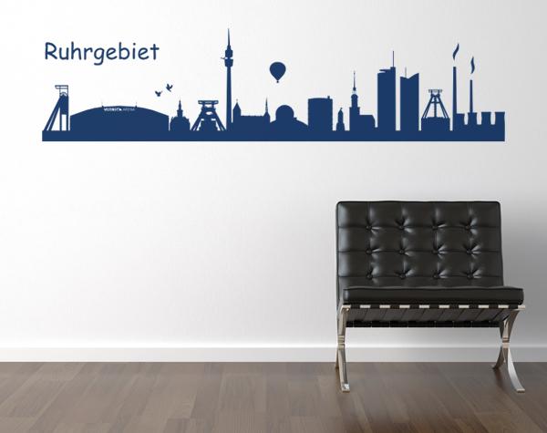 Skyline Ruhrgebiet Schalke