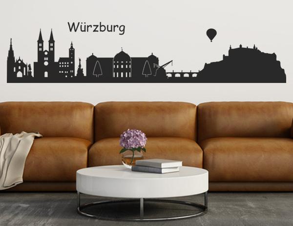 Skyline Würzburg