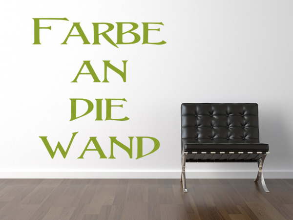 Wand-Farbe