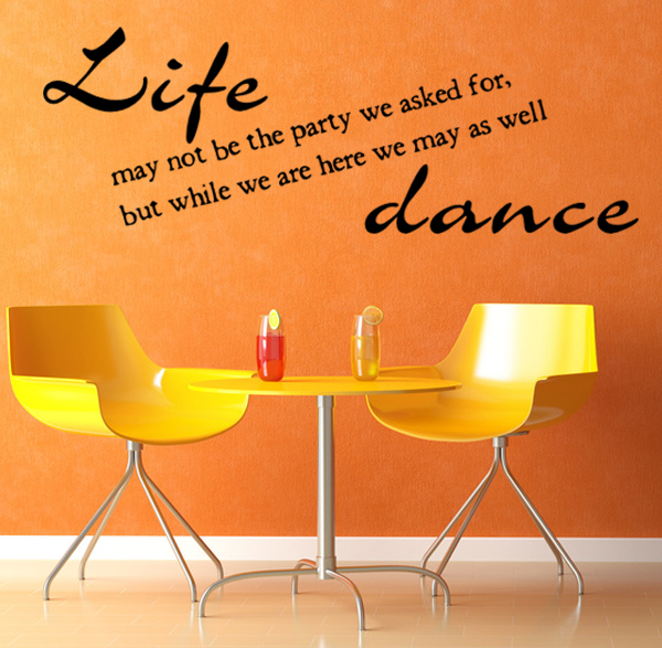Life may not be the party