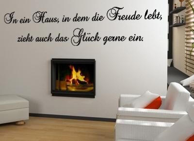 In ein Haus in dem die Freude lebt
