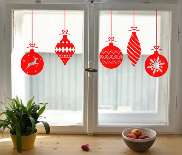 Weihnachtskugeln klassisch