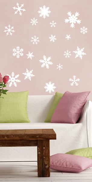 Schneeflocken-Set