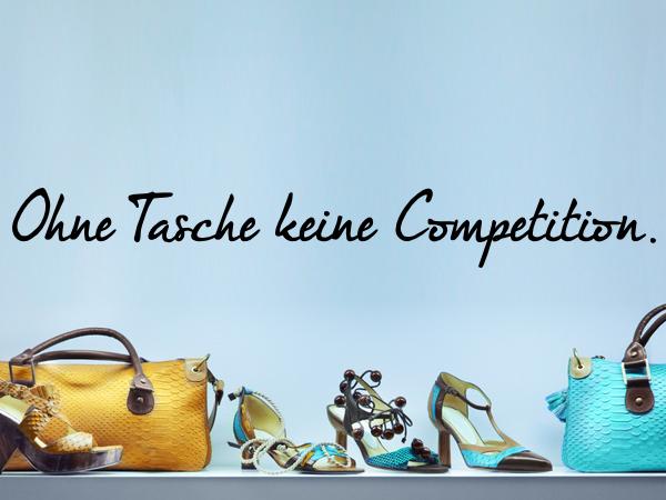 Ohne Tasche keine Competition
