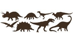 Dinosaurier Dino-Set XL