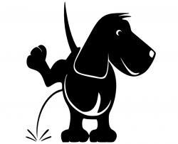 Pinkelnder Hund L