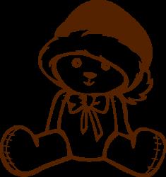 Weihnachtsteddy XL