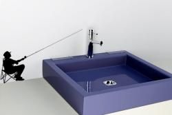Angler in schwarz M | Schwarz (RAL 9005)
